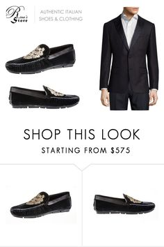 """""""New Fall collection - Roberto Cavalli Shoes by Rina's store"""" by rinasboutiquee ❤ liked on Polyvore featuring Roberto Cavalli, HUGO, men's fashion, menswear, canada, footwear, madeinItaly, rinashoes and italiandesignershoes"""