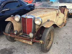 Sporty Patina: 1948 MG TC - http://barnfinds.com/sporty-patina-1948-mg-tc/