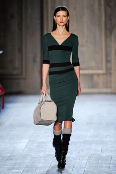 See the entire collection from the Victoria Beckham Fall 2012 Ready-To-Wear runway show.