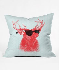 Take a look at this Nick Nelson Young Buck Throw Pillow on zulily today!