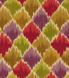 A decorative geometric design defined by simplicity and symmetry. Add a contemporary look to your room using this durable fabric for your projects to complement your home décor theme.  Content: 100% C