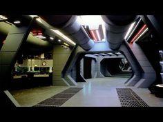 Spaceship Interior, Futuristic Interior, Spaceship Design, Star Wars Wallpaper, Hd Wallpaper, Starwars, War Novels, Green Screen Backgrounds, Star Wars Pictures