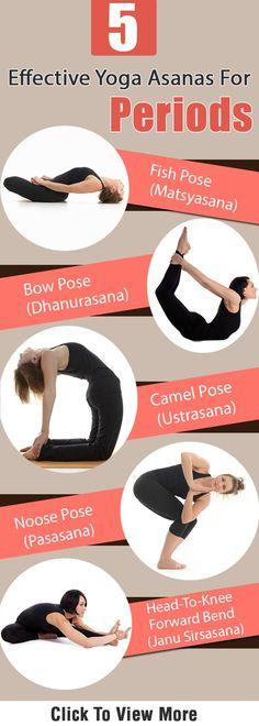 5 Yoga Asanas For Periods