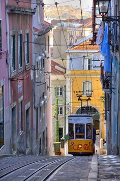 Find Elevador Da Bica Lisbon Portugal stock images in HD and millions of other royalty-free stock photos, illustrations and vectors in the Shutterstock collection. Thousands of new, high-quality pictures added every day. Places In Europe, Best Places To Travel, Best Cities, Cool Places To Visit, Europe Destinations, Travel Europe, Visit Portugal, Spain And Portugal, Portugal Travel