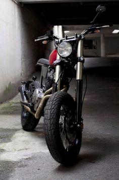 Ottonero Cafe Racer: Moto - Ciclo