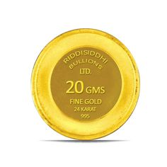 20 Gms 24 KT Gold Coin 995 Purity