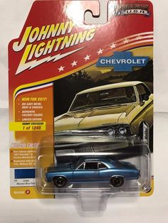 1:64 Johnny Lightning Muscle Cars USA 2017 Rel B- 1967 Chevy Chevelle Malibu #JohnnyLightning #Chevrolet