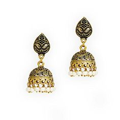 Bollywood Goldtone Oxidised Pearl Beaded Jumki Earrings /... https://www.amazon.com/dp/B01LZK1MWK/ref=cm_sw_r_pi_dp_x_jQx6xbYZE56RE