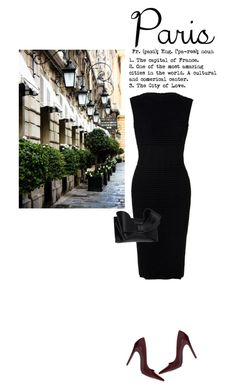 """""""I love Paris in the fall"""" by paula-v ❤ liked on Polyvore featuring Elie Saab, Zara and Valentino"""