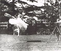 """finethankyouandyou: """" """"A rare photograph taken with a camera fast enough to show Pavlova's elevation - still exceptional in her forties."""" From Keith Money's book Anna Pavlova. Anna Pavlova, Russian Ballet, Fairy Land, In The Flesh, Ballet Dancers, Favorite Person, The Conjuring, Dance Music, Matilda"""