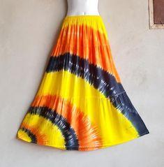 Festival Skirts, Shibori Tie Dye, Hippie Festival, Boho Skirts, Hippie Gypsy, Party Wear, Tie Dye Skirt, Casual Wear, Beachwear