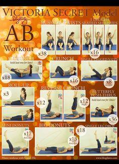 Victoria secrets workout