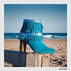 #botín #turquesa de #SachaLondon . para este #verano