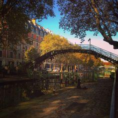 Paris: canal st. Martin