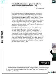 Interactive online iPad magazine. Wanderlust. www.nessalopez.com