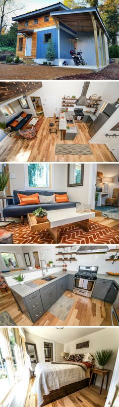 The Urban Micro House: a 600 sq ft home from Wind River Tiny Homes