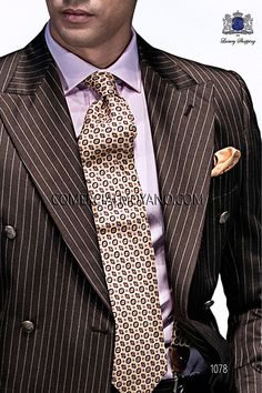 Wedding Suit Styles, Wedding Men, Wedding Suits, Mens Fashion Blog, Suit Fashion, Double Breasted Suit Men, Formal Men Outfit, Brown Suits, Mario