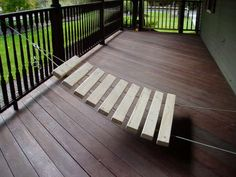 backyard xylophone, with instructions.  Also has instructions for tuning.  AWESOME IDEA!