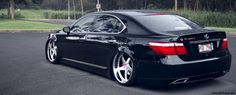 Lewa Paniolo: Jason Matsuura's Lexus Lexus Sedan, Lexus Cars, White Lexus, Lexus Ls 460, Slammed Cars, Rims For Cars, Import Cars, Japanese Cars, Honda Accord