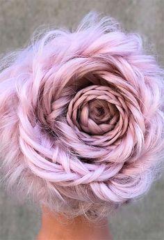 Long Hair Braids: Braided Hairstyles for Long Hair: Flower Crown Braid #longhair #braids #braidedhair #hair #hairstyles