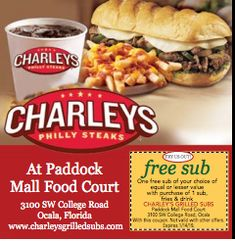 charleys grilled subs coupons 2019