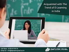 The trend of e-learning has been newly introduced in India and by virtue of the internet, this trend has been wildly circulated within a short span of time.  Acquainted with The Trend of E-Learning in India - goo.gl/a4g8Ss