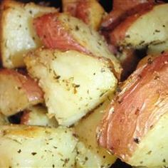 Olive Oil Roasted Red Potatoes