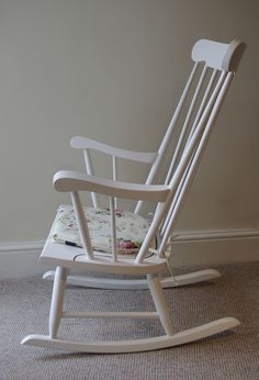 After photo of the rocking chair