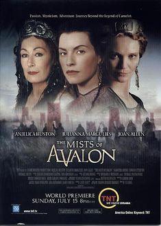 The mists of Avalon Series Movies, Film Movie, Movies And Tv Shows, Die Nebel Von Avalon, Period Piece Movies, Samantha Mathis, Michael Vartan, Joan Allen, Mists Of Avalon