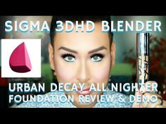 8f515ec3b1b 3D BLENDER   FULL COVERAGE FOUNDATION Review + Demo URBAN DECAY SUBSCRIBE  TO MY YOUTUBE CHANNEL