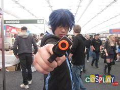 Rentaro Satomi Cosplay from Black Bullet in Sydney Oz Comic Con 2014 AU