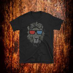 Funny Lion Shirt | Lion T-Shirt | Mens Lion Shirt | Womens Lion Shirt | Cool Lion Tee | Gift by 2Steps2Fashion on Etsy
