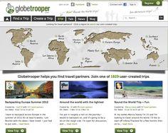 Globetrooper, la red social de mochileros para encontrar compañeros de viaje.
