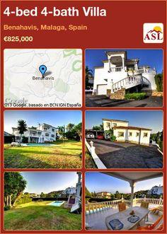 4-bed 4-bath Villa in Benahavis, Malaga, Spain ►€825,000 #PropertyForSaleInSpain