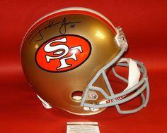 d36302687 Frank gore autographed san francisco 49ers fs helmet jsa