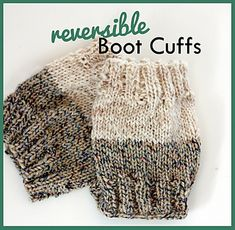 These will make a perfect gift for a few ladies I know! :) Good way to use up some of the random balls of yarn I have too!