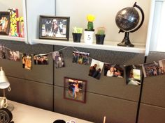 If I worked in an office this would be awesome. Maybe I'll do this for my Mary Kay office at home!