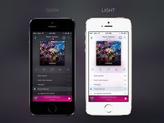 Music Player App Concept by Adhi Wicaksono
