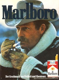 Darrell Winfield Marlboro Man from the through the - from foreign (Not US) magazine ads. Rodeo Cowgirl, Cowboy Girl, Cowboy Pictures, Guy Pictures, Retro Advertising, Vintage Advertisements, Vintage Ads, Cowboy Quotes, Marlboro Man