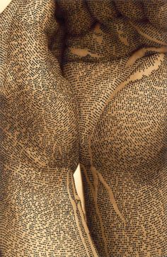 culturenlifestyle:Body Scripture II by Ronit Bigal Artist Ronit...