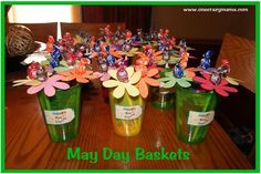 May Day Baskets | One Crazy Mama