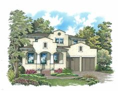 Clarkson Concepts Inc - The Casa Lucia is a 3,215 sq. ft. 4 bedrooms,4 baths home. #SpringPOH2015 #OrlandoHomes #HomeforSale