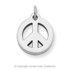 James Avery peace charm
