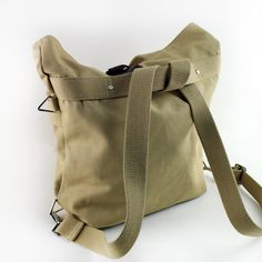 The Sal Convertible bag allows you to carry it FOUR different ways. It can covert into a briefcase, a messenger bag, a backpack and a tote bag.