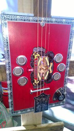 Awesome cigar box guitars! Handmade. Definitely a great gift idea..