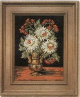 Gallery.ru / Фото #35 - Flowers - Mia68 Cross Stitch, Flowers, Painting, Art, Punto De Cruz, Dots, Art Background, Seed Stitch, Painting Art