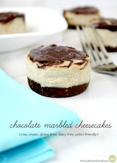 Chocolate-Marbled-Cheesecakes <-- For organic, soy-free chocolate chips and cocoa sources use #EqualExchange http://shop.equalexchange.coop/chocolate.html