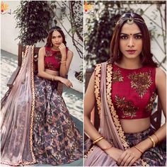 Indian fusion wear for the modern/western Indian bride. Semi-Custom and fully custom sizes available for all outfits. India Fashion, Ethnic Fashion, Asian Fashion, Indian Attire, Indian Wear, Pakistani Outfits, Indian Outfits, Desi Clothes, Indian Clothes