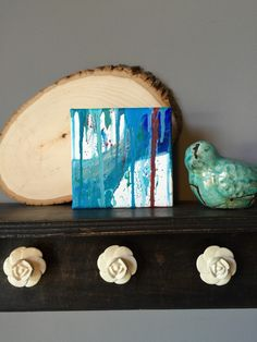 A personal favorite from my Etsy shop https://www.etsy.com/listing/266616559/abstract-mini-canvas
