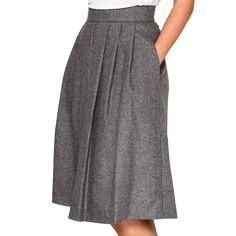 Maria Westerlind Ottila Skirt Grey, pleated